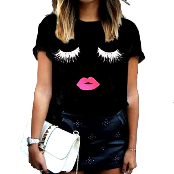 T-Shirt Schwarz | Lashes